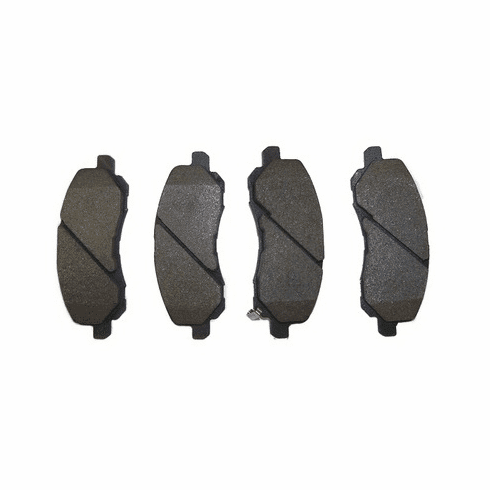 ( 5191217AA ) Front Brake Pad Set for 2007-18 Jeep Compass and Patriot MK by Crown Automotive
