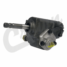 ( 52000089 ) Steering Box, 1984-98 Jeep Wrangler YJ, Wrangler TJ & Cherokee XJ with Manual Steering by Crown Automotive