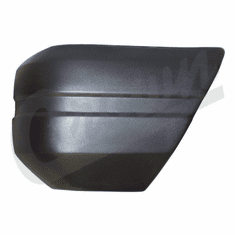 ( 52000179 ) Drivers Side Front Bumper End Cap, Black, for 1984-90 Jeep Cherokee XJ by Crown Automotive