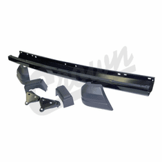 ( 52000185K ) Front Bumper Kit In Black for 1984-96 Jeep Cherokee XJ by Crown Automotive