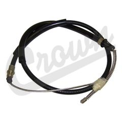 ( 52001153 ) Right or Left Side Rear Emergency Brake Cable, 1984-86 Jeep Cherokee XJ by Crown Automotive