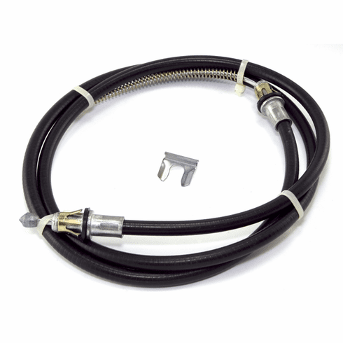 ( 52003182 ) Passenger Side Rear Emergency Brake Cable for 1987-89 Jeep Wrangler YJ by Crown Automotive