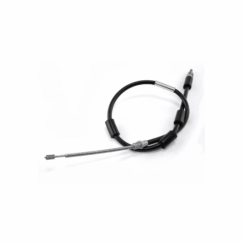 ( 52008362 ) Passenger Side Emergency Brake Cable for 1997-06 Jeep Wrangler TJ with Drum Brakes by Crown Automotive