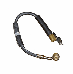 ( 52008674 ) Front Passenger Side Brake Hose for 1997-06 Jeep Wrangler TJ, 1990-01 Cherokee XJ & 1993-98 Grand Cherokee ZJ by Crown Automotive