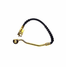 ( 52008779 ) Front Drivers Side Brake Hose for 1994-95 Jeep Wrangler YJ without ABS by Crown Automotive