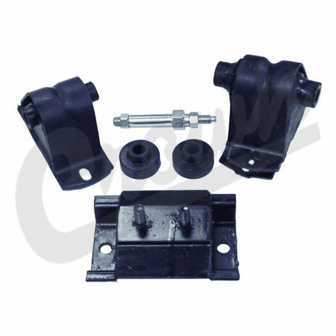 ( 52017534K ) Engine Mount Kit for 1991-95 Jeep Wrangler YJ with 2.5L Engine by Crown Automotive