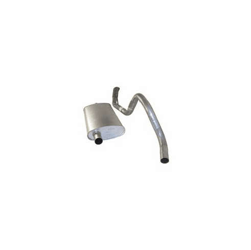 ( 52018163 ) Muffler & Tailpipe Assembly for 1993-95 Jeep Grand Cherokee ZJ with 5.2L V8 Engine by Crown Automotive
