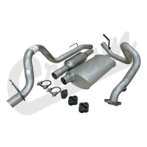 ( 52018177K ) Complete Exhaust Kit for 1993-95 Wrangler YJ with 2.5L Engine by Crown Automotive
