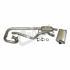 ( 52018934K ) Complete Exhaust Kit for 1997-99 Jeep Wrangler TJ with 4.0L Engine by Crown Automotive