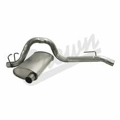 ( 52019135 ) Muffler & Tailpipe for 1987-95 Jeep Wrangler YJ by Crown Automotive