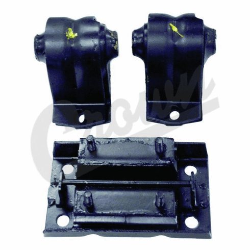 ( 52019276K ) Engine Mount Kit for 1997-06 Jeep Wrangler TJ with 2.5L or 2.4L Engine by Crown Automotive