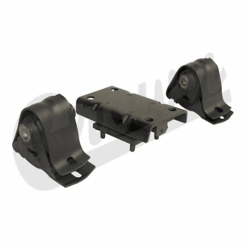 ( 52019278K ) Engine Mount Kit for 1997-06 Jeep Wrangler TJ with 4.0L Engine by Crown Automotive