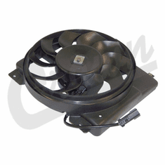 ( 52028337AC ) Electric Radiator Fan Assembly for 1997-01 Jeep Cherokee XJ by Crown Automotive