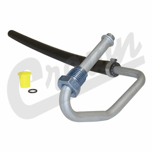 ( 52037645 ) Power Steering Return Hose for 1991-01 Jeep Cherokee XJ with 4.0L I-6 Engine by Crown Automotive