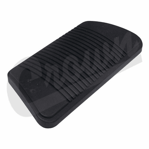 ( 52078540 ) Brake Pedal Pad for 1993-99 Jeep Wrangler YJ, Cherokee XJ & ZJ with Automatic Transmission by Crown Automotive