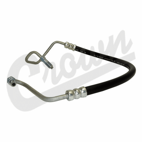 ( 52087902AB ) Power Steering Pressure Hose for 1997-2002 Jeep Wrangler TJ w/ 4.0L Engine by Crown Automotive