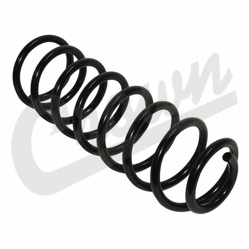 ( 52088129 ) Front Axle Coil Spring for 1997-2006 Jeep Wrangler TJ by Crown Automotive