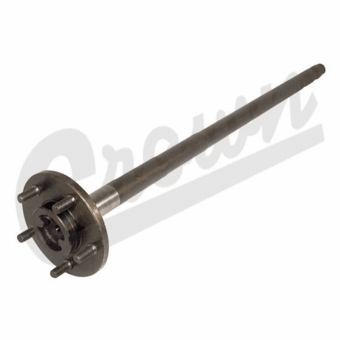 ( 5252957 ) Driver Side Axle Shaft for 1990 Jeep Wrangler YJ & 1990-91 Cherokee XJ with Dana 35 Rear Axle Without ABS by Crown Automotive