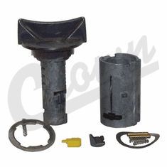 ( 5257145 ) Coded Ignition Cylinder, fits 1991-95 Wrangler YJ, 1991-94 Jeep Cherokee XJ, 1993 Grand Cherokee ZJ by Crown Automotive