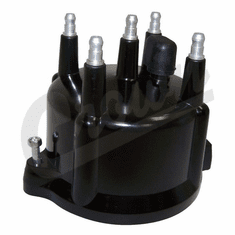 ( 53006152 ) Distributor Cap for 1991-02 Jeep Wrangler YJ, Wrangler TJ & Cherokee XJ with 2.5L 4 Cylinder Engine by Crown Automotive