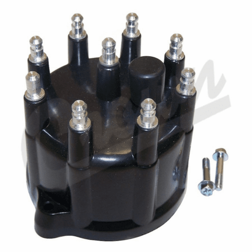 ( 53008767 ) Distributor Cap for 1993-98 Jeep Grand Cherokee ZJ with 5.2L or 5.9L V-8 Engine by Crown Automotive