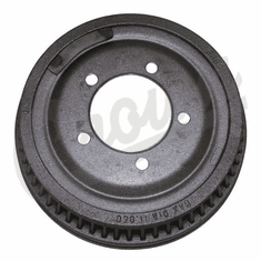 """( 5352476 )  Front or Rear Finned Brake Drum For 1974-78 Jeep CJ With 11"""" X 2"""" Brakes    by Preferred Vendor"""