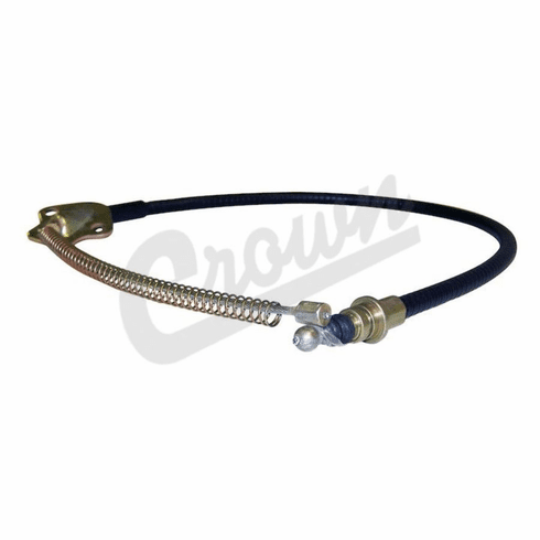 """( 5355325 )  Left Rear Emergency Brake Cable, Fits 1976-78 Jeep CJ With 11"""" Brakes by Preferred Vendor"""
