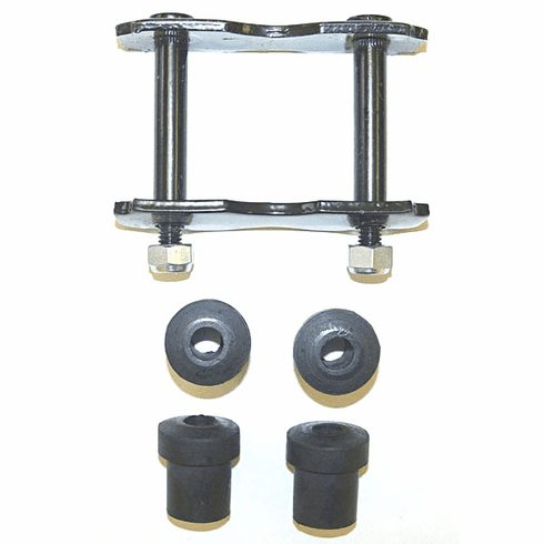( 5357499K ) Rear Leaf Spring Shackle Kit, fits 1967-1986 Jeep CJ, C101, C104 Commando By Crown Automotive
