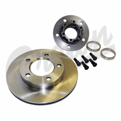 """( 5358568 )  Hub & Rotor, Front,1978-81 CJ 7/8"""" Thick Rotor, 6 Bolt Hub Not Assembled by Preferred Vendor"""