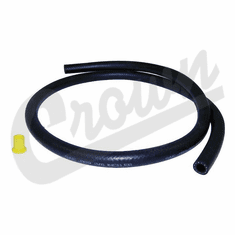 ( 5370019R ) Rubber Power Steering Return Hose, 1980-1981 Jeep CJ Models With 5.0 (304) Engine, Rubber Only, no Fittings By Crown Automotive