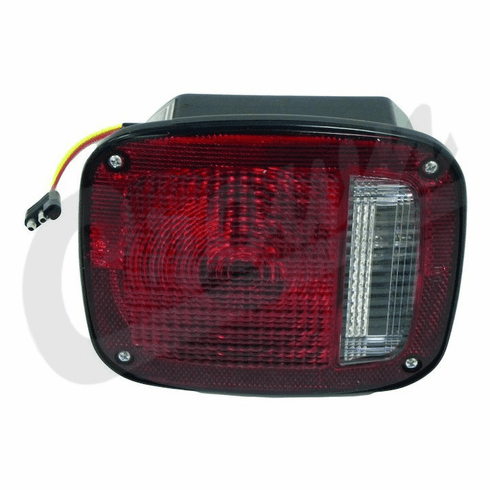 ( 5457197 )  Left Side Tail Lamp Assembly, Black, Fits 1976-80 Jeep CJ5, CJ7 & CJ8 by Preferred Vendor