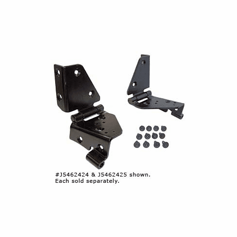 ( 5462424 )  Windshield Hinge Set, Jeep CJ 1976-1986, FACtory Style, Right Side. by Preferred Vendor