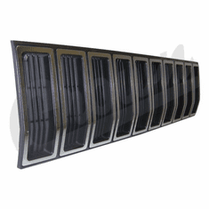( 55000153 ) Grill Panel in Black / Silver for 1984-87 Jeep Cherokee XJ by Crown Automotive