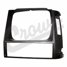 ( 55000683 ) Headlamp Bezel in Gray for Driver Side 1984-90 Jeep Cherokee XJ by Crown Automotive