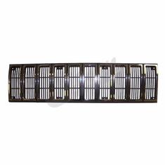 ( 55002229 ) Grill Panel in Chrome / Black for 1984-87 Jeep Cherokee XJ by Crown Automotive