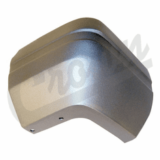 ( 55022102 ) Passenger Side Rear Bumper Cap in Argent for 1987-90 Jeep Cherokee XJ by Crown Automotive