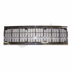 ( 55034046 ) Grill Panel in Chrome / Black for 1991-96 Jeep Cherokee XJ by Crown Automotive