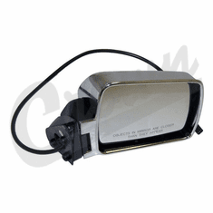 ( 55034126 ) Power Mirror in Chrome for Passenger Side 1984-96 Jeep Cherokee XJ by Crown Automotive