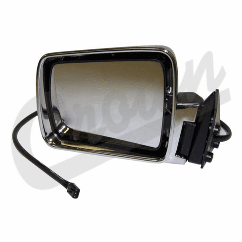 ( 55034127 ) Power Mirror in Chrome for Driver Side 1984-96 Jeep Cherokee XJ by Crown Automotive