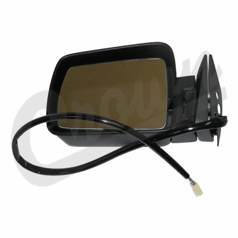 ( 55075433 ) Power Mirror in Black for Driver Side 1984-96 Jeep Cherokee XJ by Crown Automotive