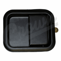 ( 55076222 ) Right Side Outside Door Paddle Handle in Black, fits 1981-06 Jeep CJ, Wrangler by Crown Automotive