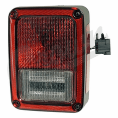 ( 55077890AC ) Passenger Side Tail Light for 2007-18 Jeep Wrangler JK By Crown Automotive