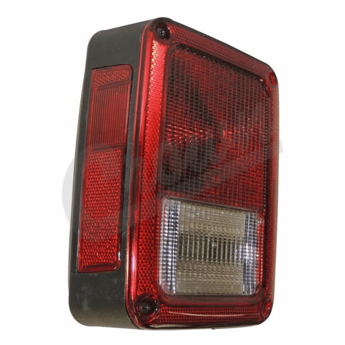 ( 55077891AC ) Driver Side Tail Light for 2007-18 Jeep Wrangler JK By Crown Automotive
