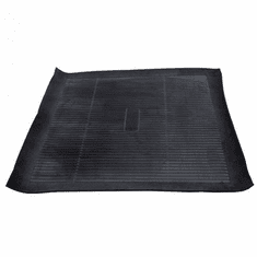 ( 550995 ) Rear cargo area liner, black rubber, fits 1945-1981 Jeep CJ models by Omix-Ada