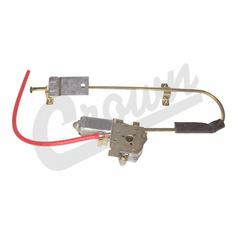 ( 55154899 )  Regulator, Electric Window, Left Rear, 1984-96 Cherokee XJ by Preferred Vendor