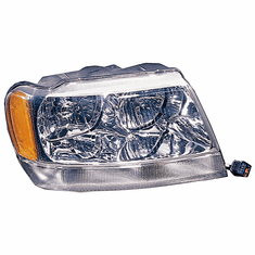 ( 55155552 )  Right Side Headlight, 1999-04 Jeep Grand Cherokee Limited by Preferred Vendor