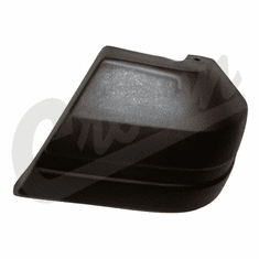 ( 55234545 ) Drivers Side Front Bumper End Cap In Black for 1991-96 Jeep Cherokee XJ by Crown Automotive