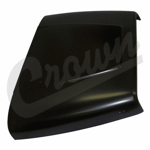 ( 55345059 ) Replacement Steel Hood for 1987-95 Jeep Wrangler YJ by Crown Automotive