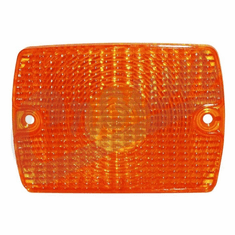 ( 56001378 ) Front Parking Lamp, Amber, fits 1987-95 Jeep Wrangler YJ by Crown Automotive