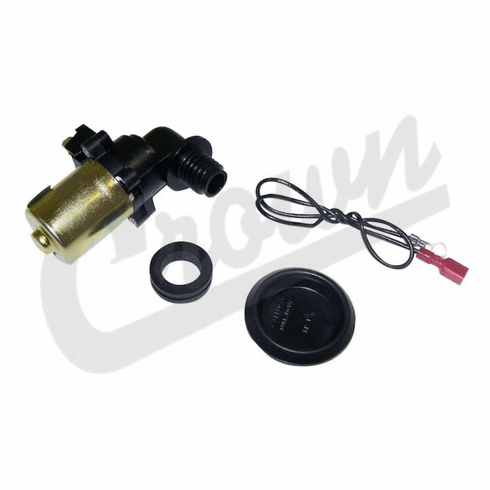 ( 56002053 ) Windshield Washer Pump, fits 1993-98 Jeep Grand Cherokee, 1987-95 Wrangler YJ by Crown Automotive